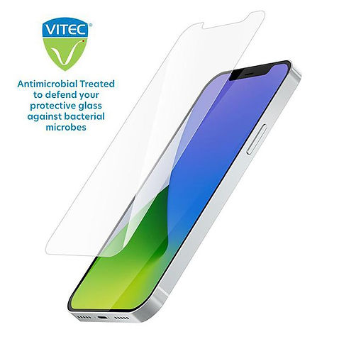 Antimicrobial phone screen protector