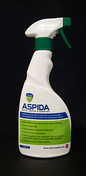 ASPIDA Natural Disinfectant 500ml trigger spray bottle