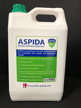 ASPIDA Natural Disinfectant 5 Litre Jerry Can