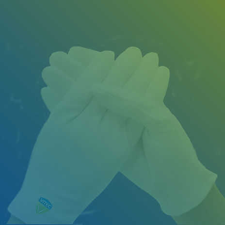 Vitec antimicrobial coated gloves