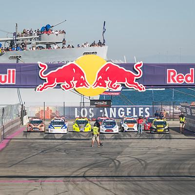 Red Bull Global Rallycross Championship Port of LA