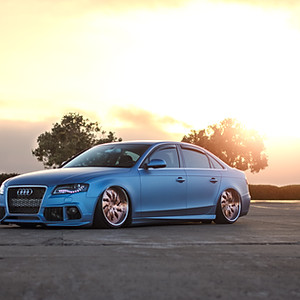 Ryan's Bagged Audi A4