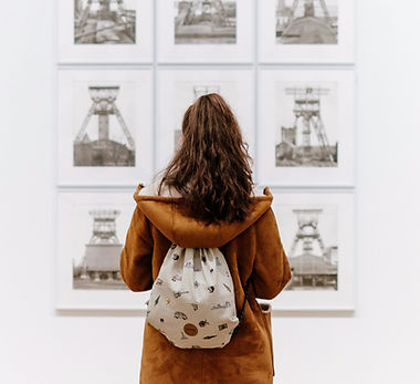 Blick auf Kunst