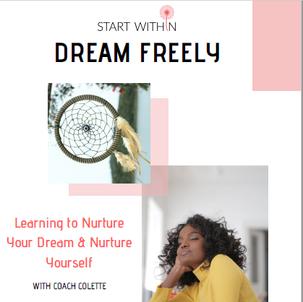 Start Within Dream Freely Workbook