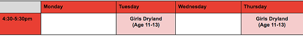 Girls Dryland Schedule.png
