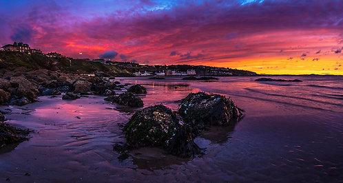 """""""Sunrise Spectacular on Kinghorn Beach"""" - Photographic Print"""""""