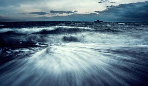 """Stormy Inchkeith"" - Photographic Print"