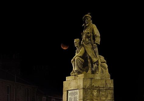 """Memorial Eclipse"" - Photographic Print"