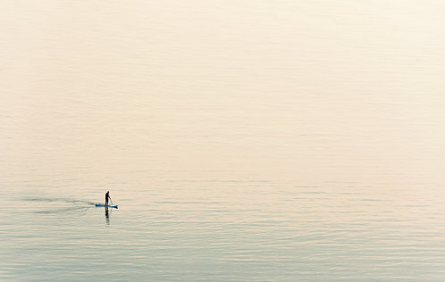 Pettycur Paddleboarder