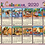 Thumbnail: Calendrier 2020/ Set de Table x 4   + 2 Autocollants