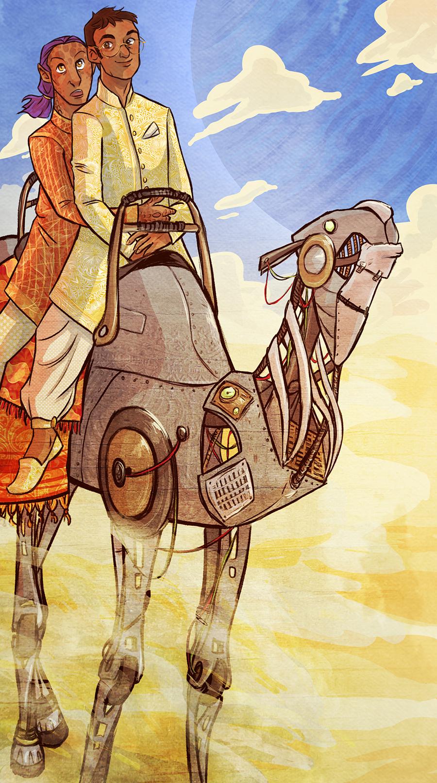 robotic camel