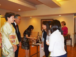 I met new Consul General of Japan.
