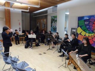 Japan America Chamber Ensemble Concert   日米室内楽団、ライブラリーコンサート