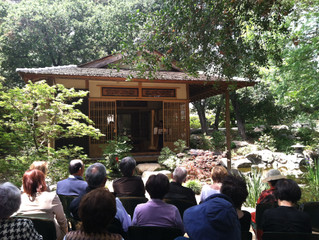 Harp & Koto Stories performance at Storrier Stearns Japanese Gardens‏, Pasadena