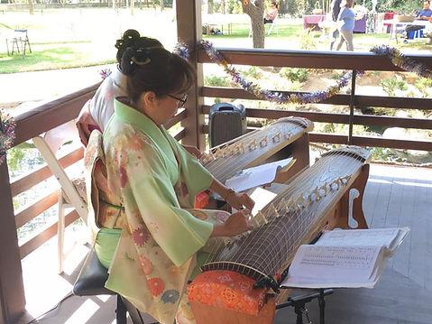 Holiday Japan event at Shoseian, Glendale  | Saeko Kujiraoka