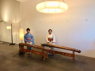Koto Duo Performance at Rewire Showroom
