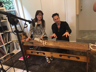 Recording Session with Luke Steele