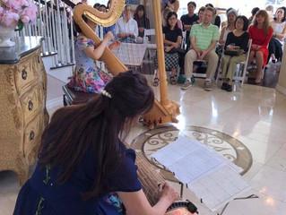 Harp & Koto Stories Tea Time Concert