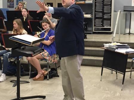 Sal LaRusso Legacy Fund sponsors Juilliard conductor at Weston High School