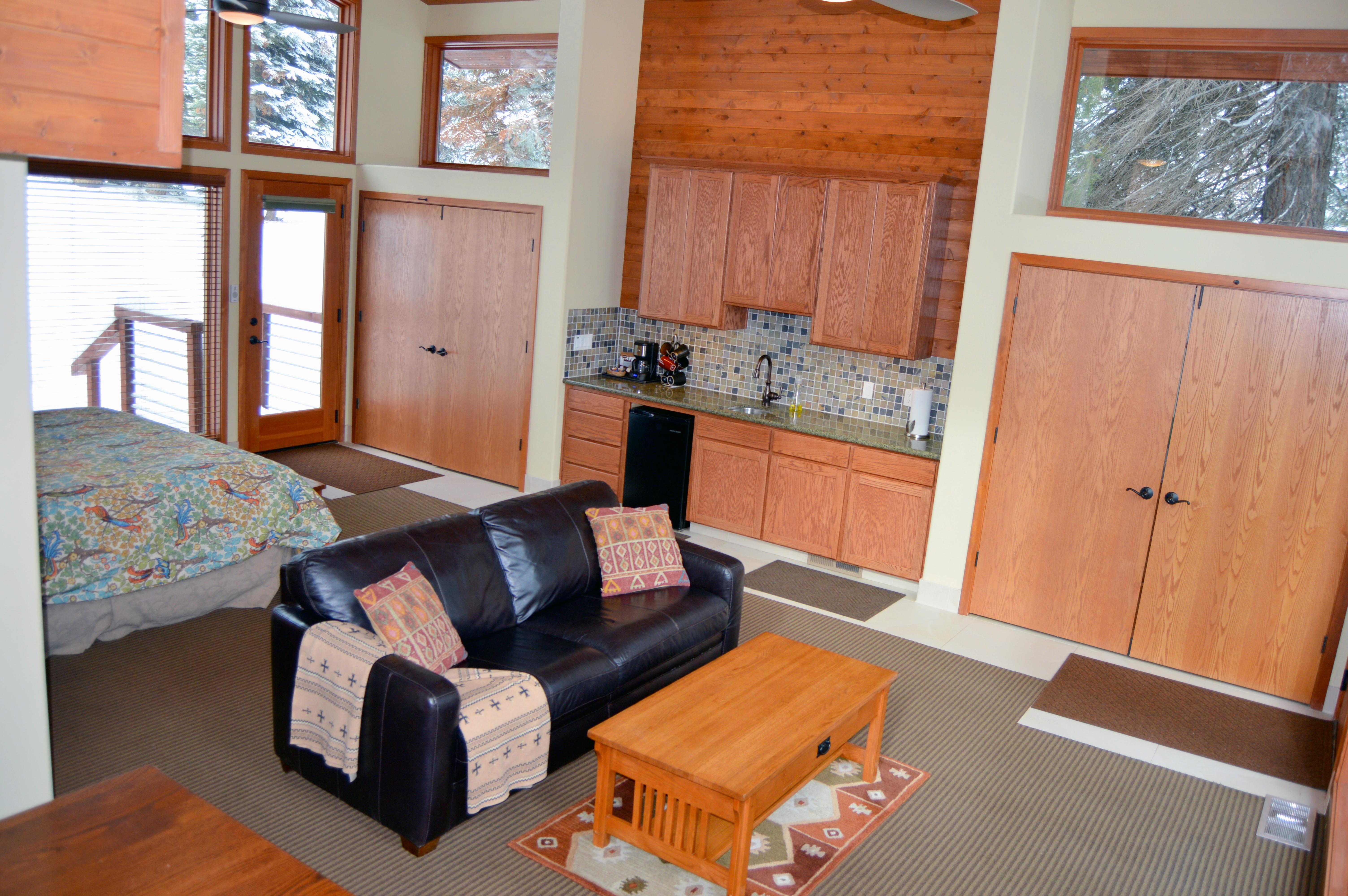 Forest Cabin Open Floor Plan