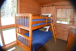 Forest Cabin 2nd-Floor Bunk Room