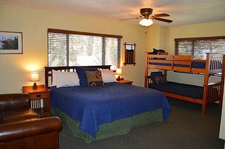 Interior View of Vintage Lodge Suite