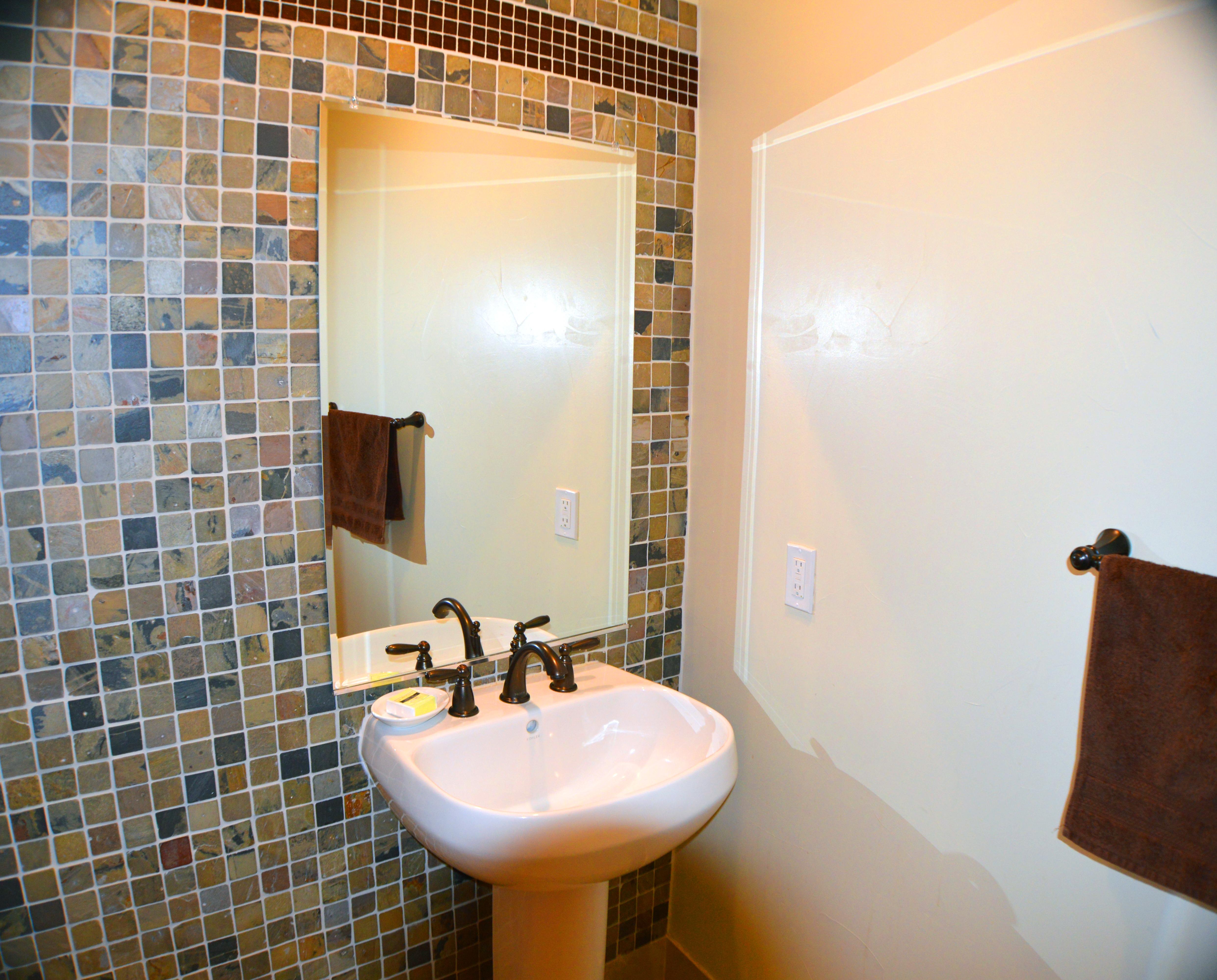 Forest Cabin 2nd Floor Half-Bath
