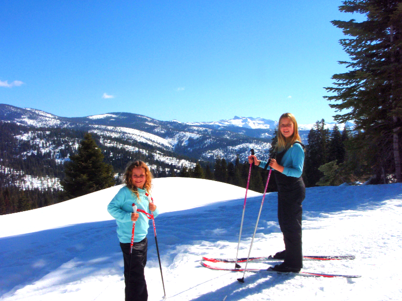 Cross-country Skiing with a View