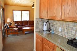 Upstairs Kitchen mini-bar/Living area
