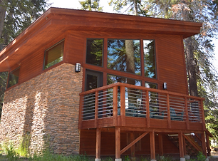 Forest Cabin Exterior