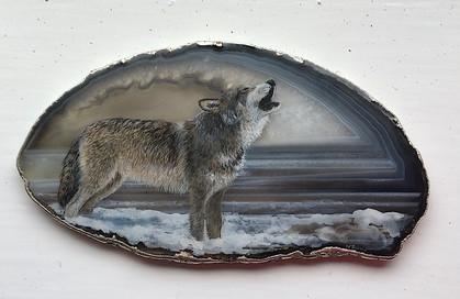 Howling Wolf -  Wendy Sabine
