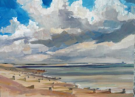 Pett beach towards Rye -  Clive Dand