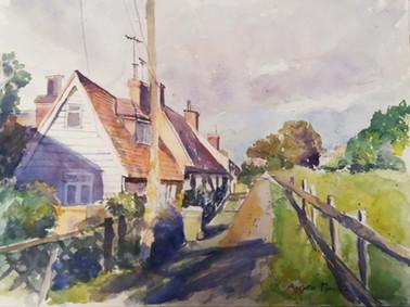Church walk, Headcorn -  Angela Musil