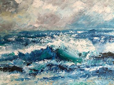 Early Morning Swell -  Tony Langham