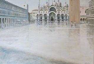 Piazza di San Marco, Venice - oil.jpg