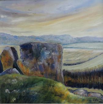 Coldrum Barrow -  Lesley Feakes