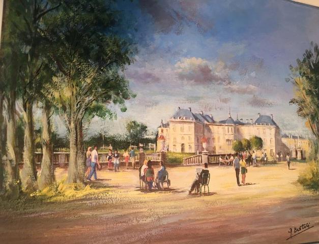 Le Senat in the Luxembourg Garden