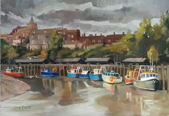 Rye Harbour Fishing Boats