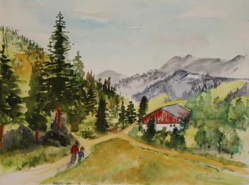 A walk in Bavaria -  Bernard Winchester