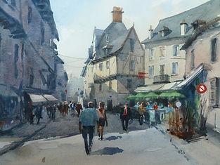 David Aspinall - Estaing, Aveyron France