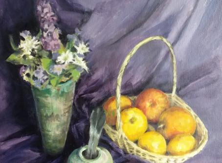 'Still Life' Art Workout 16th April 2020