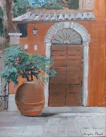 Mediterranean Entrance -  Angela Musil
