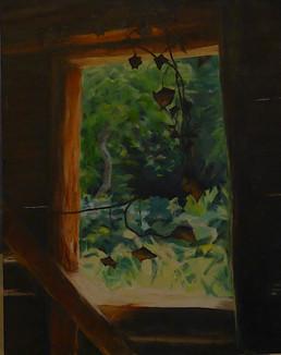 Barn view -  Alison Chandler