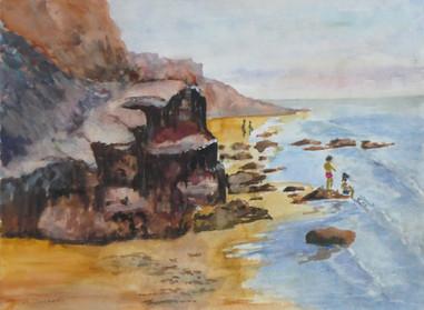 Rocks and sand -  Bernard Winchester
