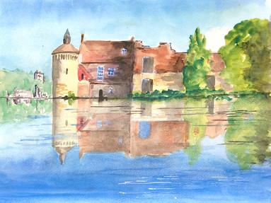 Reflections at Scotney Castle -  Bernard Winchester