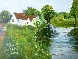 Willie Lott's Cottage - Joan Palmer acry