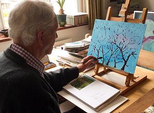 John Robson at work