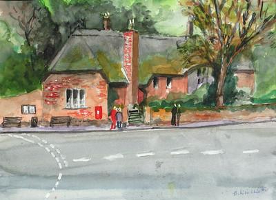 A Cottage in Devon -  Bernard Winchester