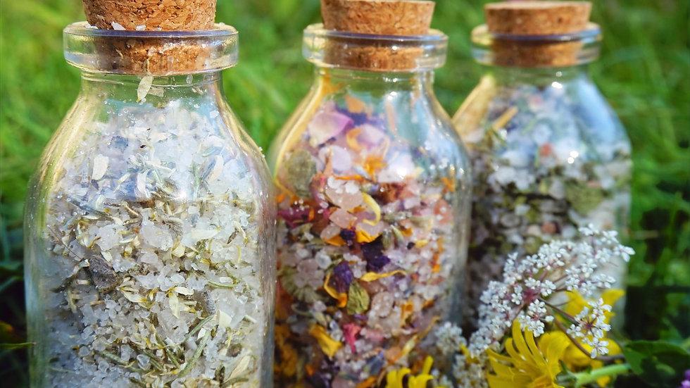 Rituel Sels de Bains aux Fleurs & Plantes