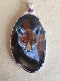 Fox pendant -  Wendy Sabine